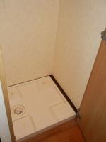 その他設備:室内洗濯機置き場