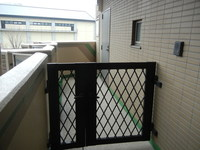 玄関:玄関専用ポーチ